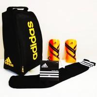 PAKET KELENGKAPAN Futsal / Soccer ( TAS + KAUS KAKI + DEKER) Adidas