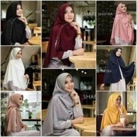 Fashion muslim wanita JIlbab Besar Khimar Instan Shafira Dhanisa Swaro