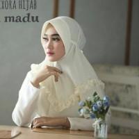 Fashion muslim wanita Jilbab besar Jaman NOW Khimar Instan Pet madu Ix