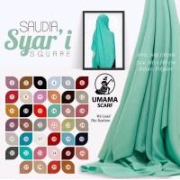 PROMO Segiempat Saudia Syari Umama - Hijab - Jilbab - Kerudung