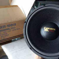 Speaker / Spiker Canon Pro Woofer 12 Inch 12 In 400 Watt 8 Ohm