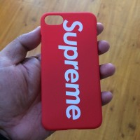 Hardcase Supreme Red Black Doff iPhone 7 8 062a0b67b8