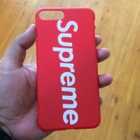 Hardcase Supreme Red Black Doff iPhone 7+ 8+ 0f7c931db0