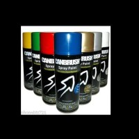 Cat Semprot CANBRUSH-pilox/pylox/spray paint-gold-METALIC