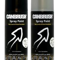 Cat Semprot CANBRUSH-pilox/pylox/spray paint-silver-STANDART