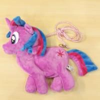 Twilight Tas Boneka Selempang Anak Cewek My Little Kuda Pony Poni