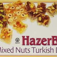 Turkish Delight Lokum HazerBaba Mixed Nuts 454 gr 16 oz