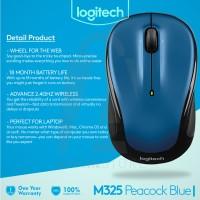 Harga logitech wireless mouse m325 peacock | Pembandingharga.com