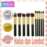 Set Kuas Make Up Kosmetik Wajah 10 PCS 10pcs Cosmetic MakeUp Brushes