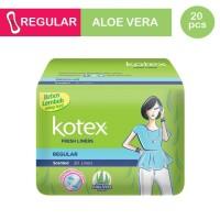 Kotex Fresh Liner Reguler Aloe Vera Isi 20