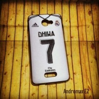 ANDROMAX E2 CASE CUSTOM HP - JERSEY MADRID