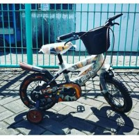 Sepeda Anak BMX Lalix Army Tentara 12