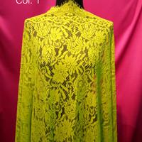 Brokat / Kain Kebaya Brukat panel cotton with cord