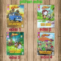 Komik Sains Kuark Th 12, L2, untuk anak kelas 3 - 4 SD