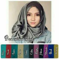 jilbab pashmina velvet murah berkualitas grosir