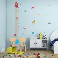 wall sticker wallsticker sticker dekorasi dinding roket alien ZY121
