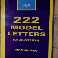 Original bekas 272 Model Letters for all Occasion