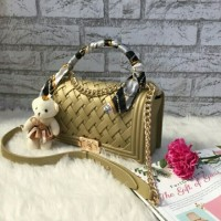 chanel jelly matte anyam /tas fashion wanita/tas branded / jakarta bag