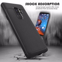 Samsung S9 - S9 Plus soft case casing hp cover kulit tpu ARROW LEATHER