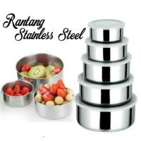 Rantang Stainless 5 Susun 5 In 1 Panci Tempat Nasi Sayur Lauk Pauk RSS