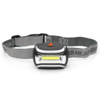Senter Kepala Headlamp Waterproof LED 3 Mode / Lampu Head Lamp