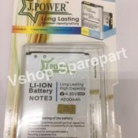 Baterai Batre Double Power Samsung Galaxy Note 3 N9000 N900 JPOWER
