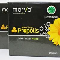 Sabun Wajah HERBAL MARVA PROPOLIS 50gr