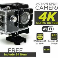 Kamera Sport Action Camera 4K Ultra HD/ GoPro wifi/Kogan