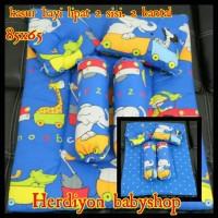 set kasur bayi/bantal guling/gendongan/tas bayi/bedong/baju/celana