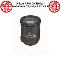 Lensa Nikon AF-S DX 18-200mm F3,5-5,6G ED VR II Nikkor Nikon Sapujagat