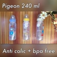 Jual Murah 12 Botol Susu Bayi Pigeon 240 ml BPA Free (PP) Murah