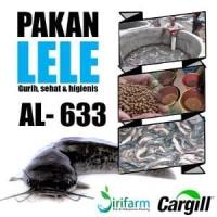 jirifarm Pakan Lele Cargill AL-633 3kg uk. 3mm untuk le Murah
