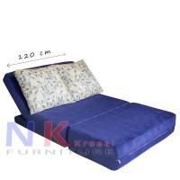 Sofa Bed Kasur Full busa, sofabed minimalis multifungsi