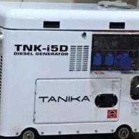 GENSET Diesel Silent 5000watt TANIKA KUALITAS TERBAIK
