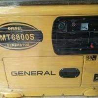 Genset Diesel 5000Watt Silent GENERAL KUALITAS TERBAIK