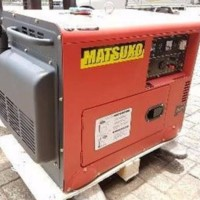 Genset silent 5 kva diesel matsuko GRATIS ONGKIR KUALITAS TERBAIK