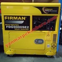 GENSET FIRMAN DIESEL FDG9000SE2 STATER KUALITAS TERBAIK