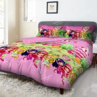 Bed Cover Deluxe Kintakun Short Cake - Ukuran 180x200