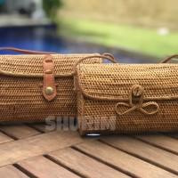 Jual Bohemian Bag Carissa Medium/Tas rotan/Bali/selempang/best seller Murah