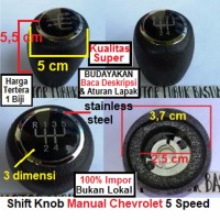 OBRAL shift knob shiftknob gearstick gearknob handle persneling chevr
