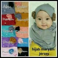 (Harga Oke) Jilbab Bayi Syria Maryam / Kerudung Anak / Hijab Baby