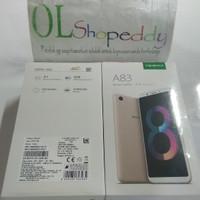 Hp Oppo A83 Black New Smart Selfie Garansi Resmi (RAM 3GB+ROM 32GB)