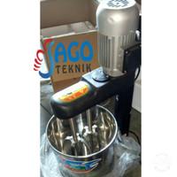 Mesin Mixer Hitam 15L / Mesin Pengaduk Adonan Kue 15 Liter Murah