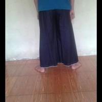 (Harga Terbaik) Celana Sarung Uje Hitam Wadimor