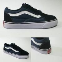 promo sepatu vans old skool blue navy grade ori - Berkualitas