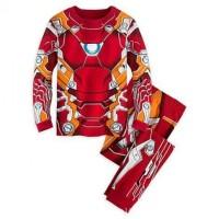 Baju tidur anak laki-laki/Piyama Boy GAP Hongkong Iron Man