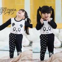 Piyama Panda Untuk Anak Perempuan - BEST SELLER