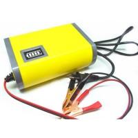 Cas Aki 6A 12V Portable Mobil Battery Charger Motorcycle Car Motor