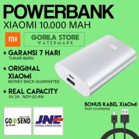 Jual [HOT] Powerbank Xiaomi 10000 mAh ORIGINAL ! / Mi Power bank Murah