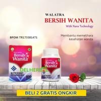 Walatra Bersih Wanita Original Isi 100 Kapsul